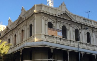 Sealasash restores windows at the Melbourne Hotel  in Perth