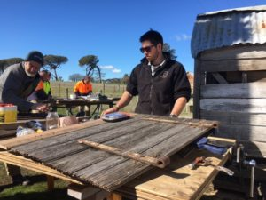Sealasash staff learn the lost trades of heritage carpentry